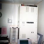 九越フェリー無線室