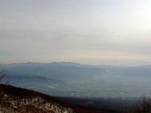 高峰高原より望む富士山その2