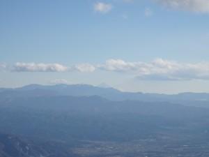 高峰高原からの富士山