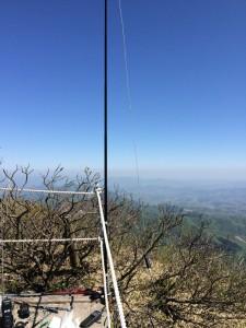 大山山頂より29MHzFM運用