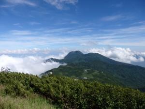 火打山から望む妙高山