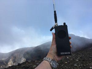 富士山頂にてZERO1000-29