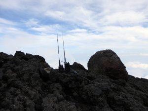 富士山頂駒ヶ岳よりDJ-G7とZERO1000-29