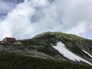 乗越浄土からの中岳