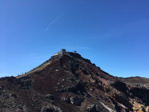 富士山剣ヶ峰