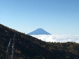 前国師岳手前からの富士山
