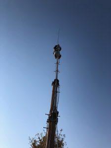 SIGMA Venom 5/8 GPと6m 6エレ(CL6DX)ようやく上がる